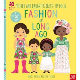 Mother and Daughter Dress-Up Dolls: Fashion From Long Ago