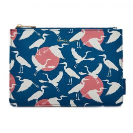 National Trust by Fenella Smith Heron & Moon Pouch