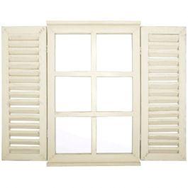 Outdoor Shutter Window Mirror