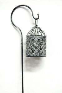 Bird Cage Tea Light Lantern