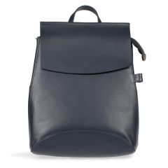 National Trust Leather Backpack Bag, Navy
