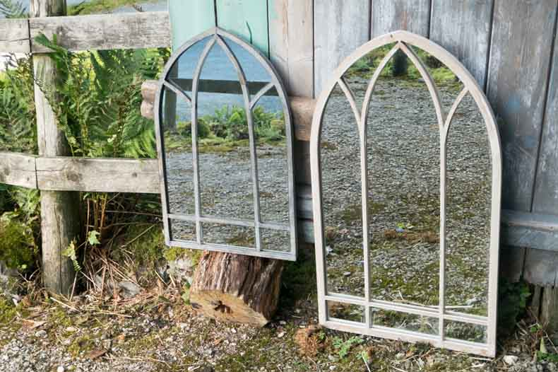 Back in stock Garden mirrors