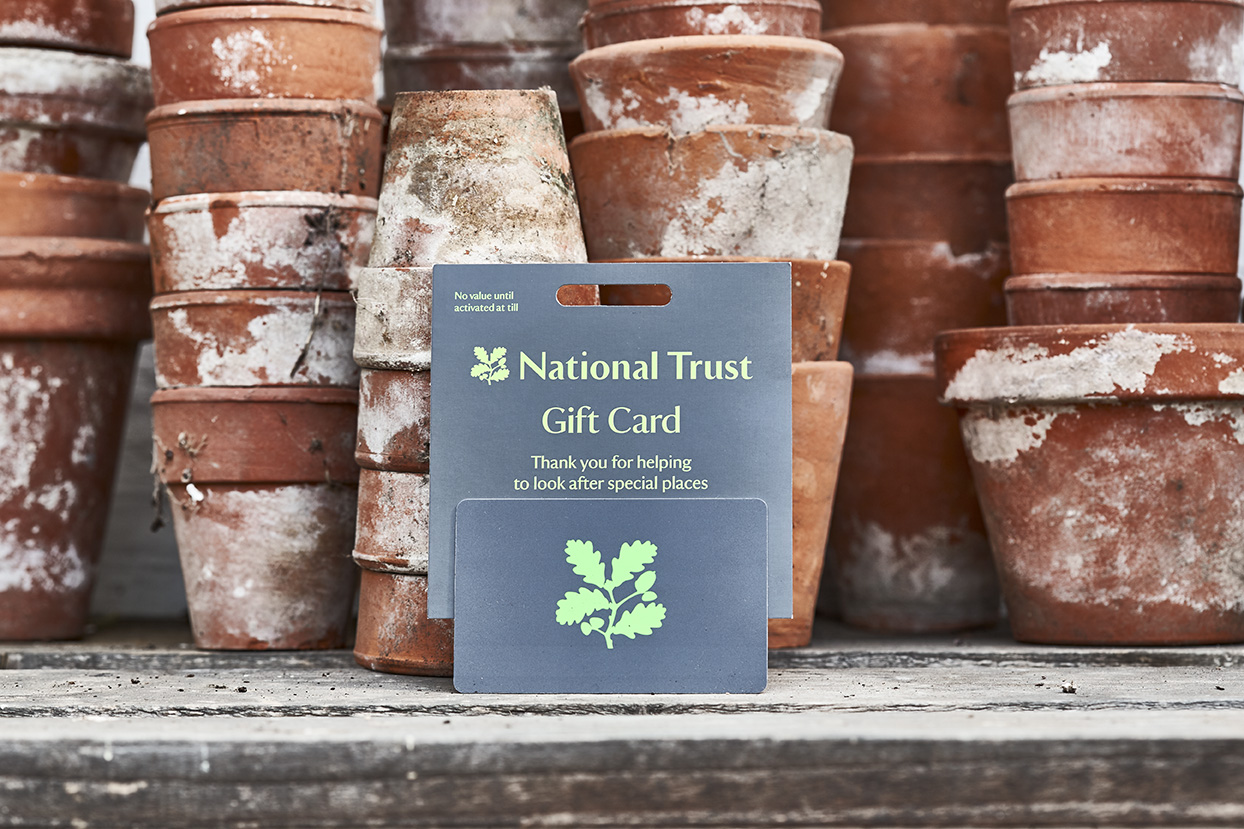 National Trust gift cards